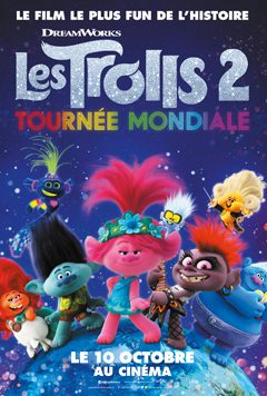 LES TROLLS 2 : TOURNEE MONDIALE cover