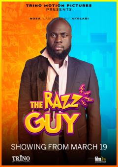 THE RAZZ GUY cover