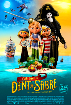 CAPITAINE DENT DE SABRE ET LE DIAMANT MAGIQUE cover