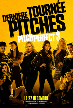 PITCH PERFECT 3 cover