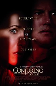CONJURING 3 : SOUS L'EMPIRE DU DIABLE cover