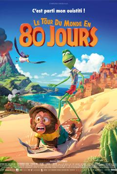 LE TOUR DU MONDE EN 80 JOURS cover