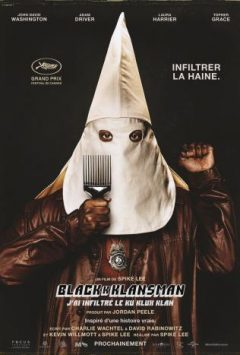 BlacKkKlansman - J'ai infiltré le Ku Klux Klan cover