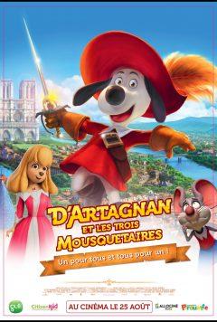 D'ARTAGNAN ET LES TROIS MOUSQUETAIRES cover